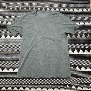Lululemon's Gray Men's Athletic Shirt